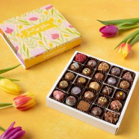 Mother's Day Large Selection Box of 25 Fine Fresh Chocolates