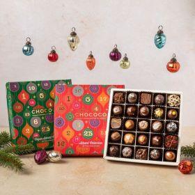 Dark Chocolate  Vegan  Advent Calendar Selection Box (vf)