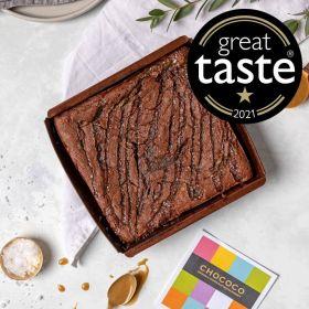 BUNDLE - 70% Hot Chocolate Flakes & Salted Caramel Brownie