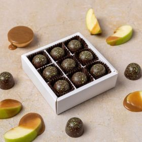 limited edition toffee apple caramel chocolate box by Chococo