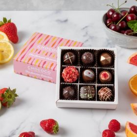 Summer collection chocolate box by Chococo