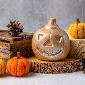 Gold Chocolate Halloween pumpkin by Chococo