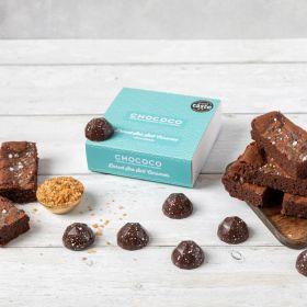 BROWNIE BUNDLE - Dorset Sea Salt Caramel Brownie & Chocolates