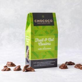 Chococo Fruit & nut Cluster milk chocolate box