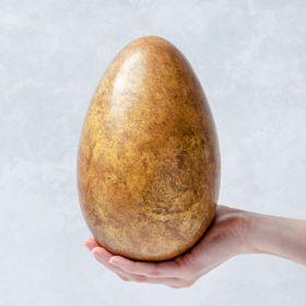 Giant Milk Chocolate Honeycombe Studded Easter Egg