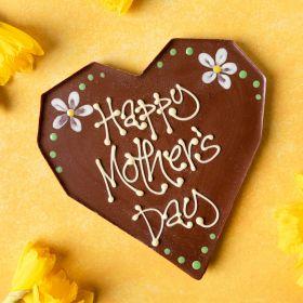 Personalised Milk Chocolate Heart for Mum