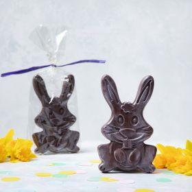 Bertie the Dark Chocolate Bunny Bar (vegan-friendly)