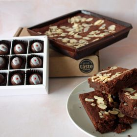 NEW* Limited Edition - Cherry Bakewell Chocolates & Brownie Bundle