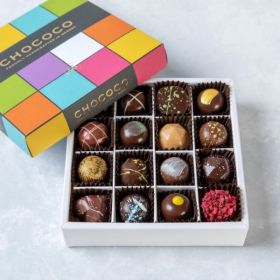 Medium Selection Box of handcrafted chocolates
