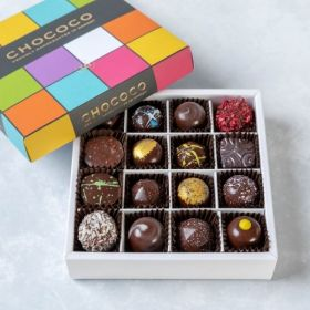 Fresh Dark Chocolate Selection Box - Medium