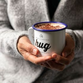 Chococo Mug to Hug & Hot Chocolate Flakes Gift Set