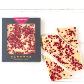 White Chocolate & Raspberries Mini Bar