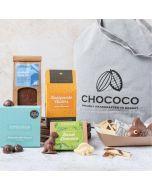 Jurassic Coast Chocolate Hamper handcrafted by Chococo in Dorset
