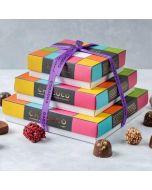 Chococo Cascade of 50 handmade, artisan chocolates