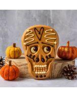 Gold Chocolate Skull bar by Chococo