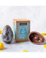 Milk Chocolate Ocean Easter Egg
