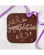Congratulations' giant dark chocolate bar (vf)