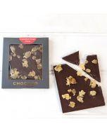 Dark Chocolate & Crystallised Ginger Mini Bar (& vegan-friendly)