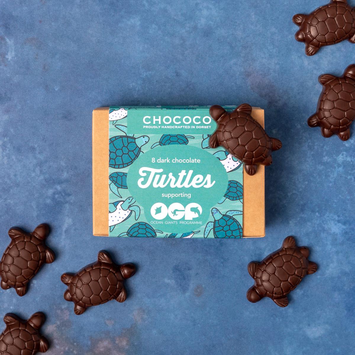 Meet our new Dark Chocolate Turtles!