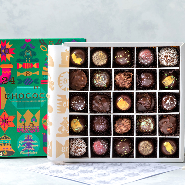Our Vegan-friendly Advent Selection Box is one of the Best Vegan Advent Calendars for 2020 according to Olive magazine