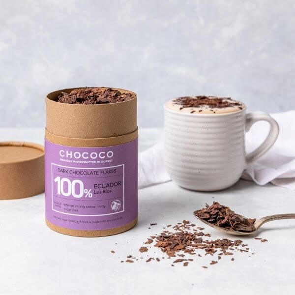 We are proud to announce the launch of 100% Ecuador Single Estate chocolate flakes, our first project with Martinetti Cocoa