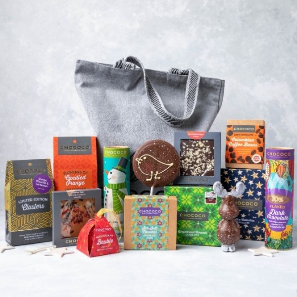 Our Giant Hamper is one of the 'Best Foodie Christmas Hampers for 2020' according to Good Housekeeping