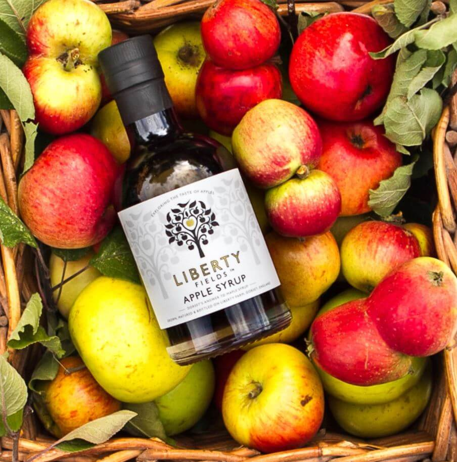 Introducing Toffee Apple, made with Liberty Fields' apple syrup in our latest local collaboration
