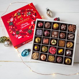Our Christmas Large Selection Box is awarded 5 Stars by the Observer Food Monthly
