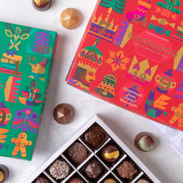 Our Advent Selection Box is winning press plaudits again this year