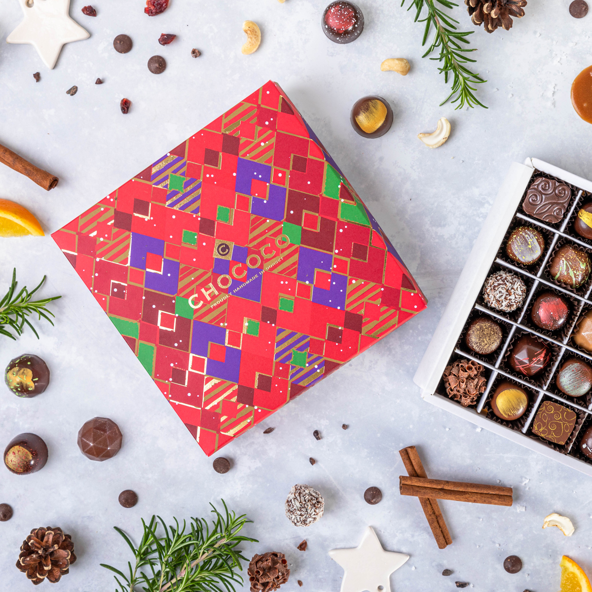 The Independent includes our Christmas Selection Box in their review of the '11 Best Luxury Chocolate Boxes'