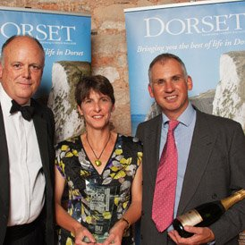We are thrilled to win Food Producer of the Year in the Dorset Magazine Food, Drink & Farming Awards