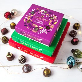 Metro Newspaper love our boxes of fresh Christmas chocolates