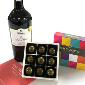 Congratulations to our 2 winners of our Chocolate, Port & Winchester Wine Festival competition!