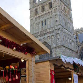 Visit us at the Exeter Christmas Market from this Saturday 2nd December