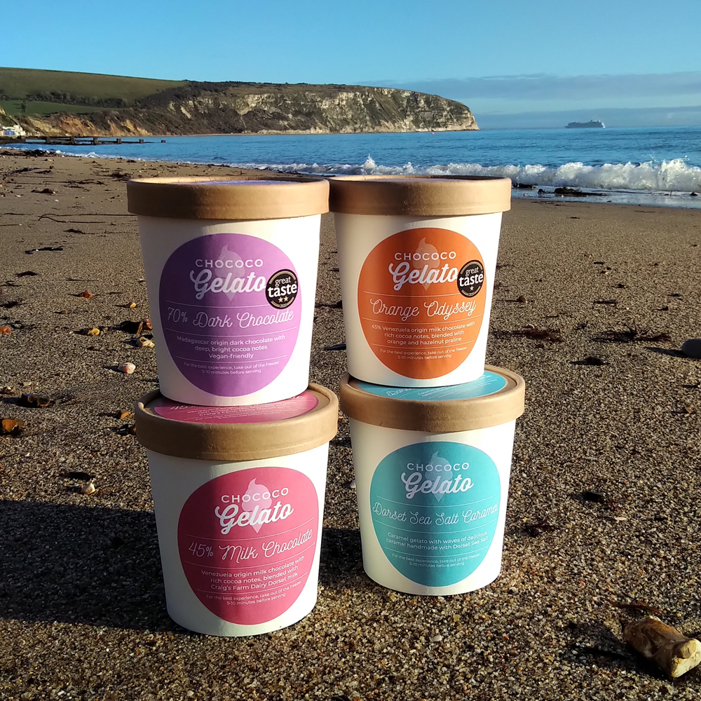 NEW Gelato tubs to take home now available to order by Click & Collect!