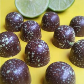 Our chocolate of the month for June is NEW Conker & Lime!