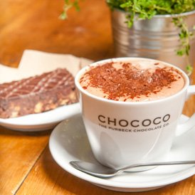 Our Hot Chocolate of the month for November is Chai Spice