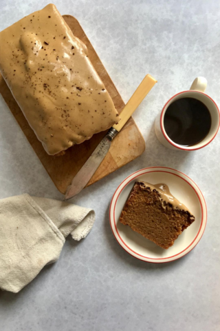 Grown-up's Cappuccino Loaf Cake