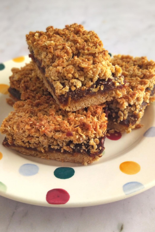 Chococo's Datey Oaty Slices (option to be vegan)