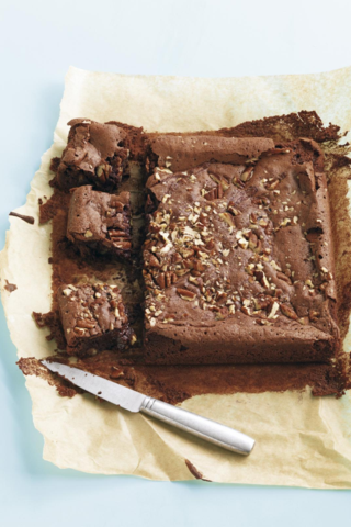 Chococo's Squidgy Pecan Brownies