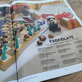The Telegraph feature our baubles & fresh Christmas Selection box in their annual Christmas Food & Drink Guide