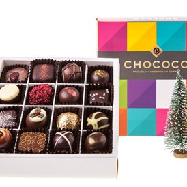 """The Evening Standard includes our """"divine"""" Christmas Selection in their review of the Best 5 Christmas Chocolate Boxes"""