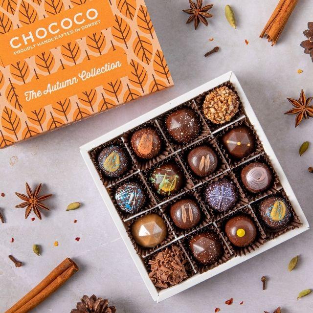 Chococo Autumn Collection Chocolates