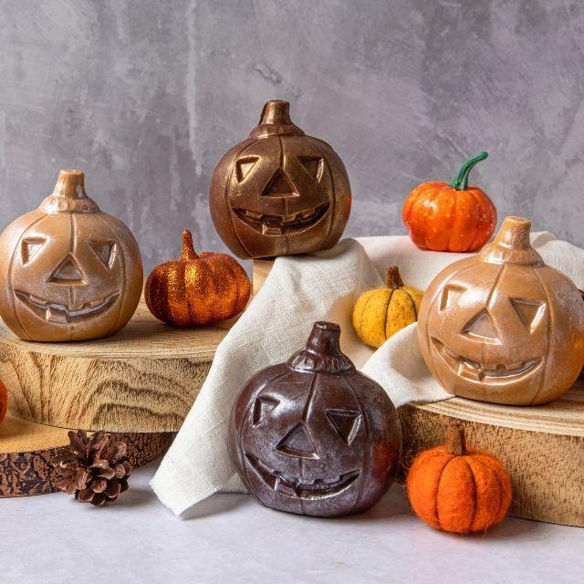Halloween Pumpkin Chocolates from Chococo