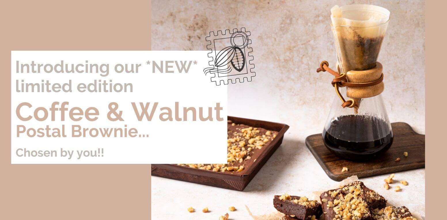 Coffee & Walnut Brownie