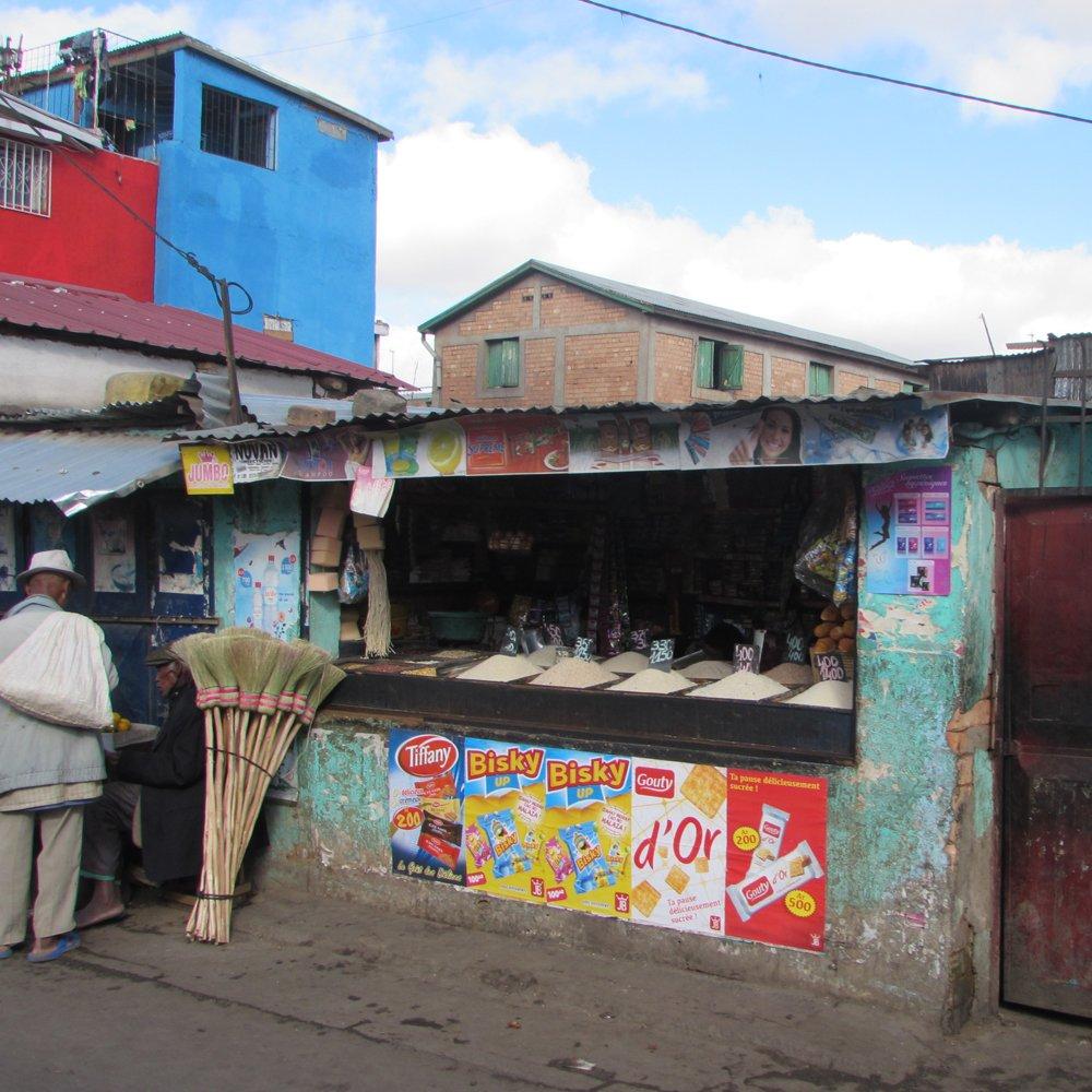 hole in wall shop tana madagascar