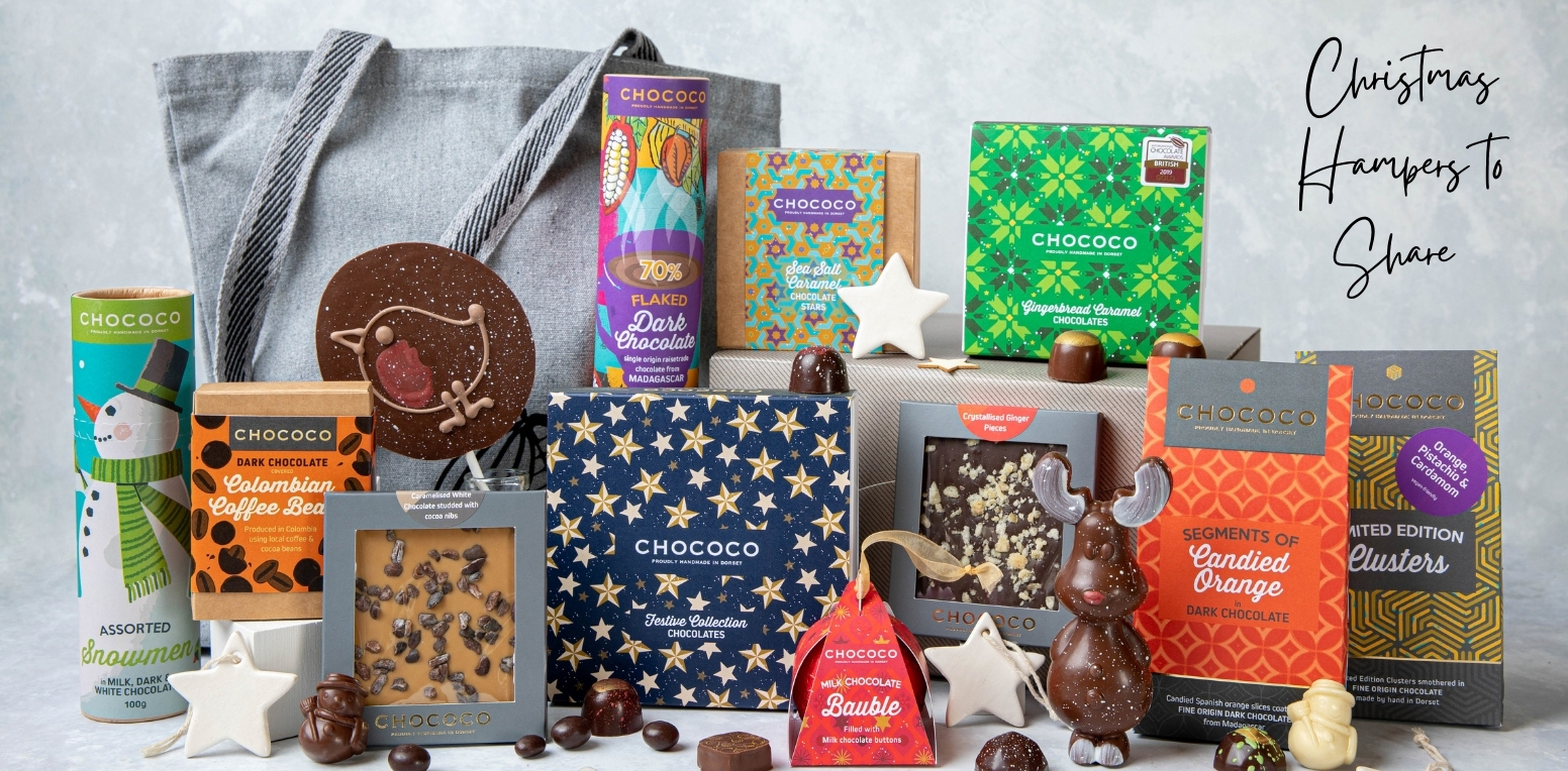 Christmas hampers to share from Chococo