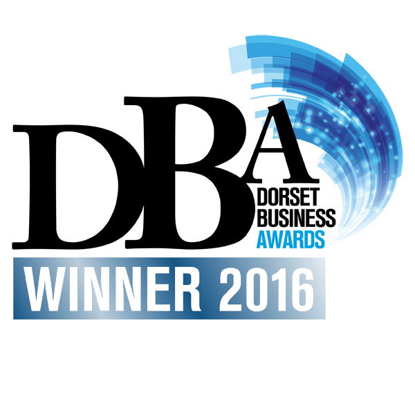 Dorset Business Awards winning logo